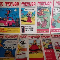 Coleccionismo de Los Domingos de ABC: LOTE PRIMEROS NUMEROS GENTE MENUDA ABC PANTERA ROSA YOGUI LOS PICAPIEDRA BARRIO SÉSAMO. Lote 138082188