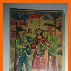 Coleccionismo de Los Domingos de ABC: ABC 23 MARZO 1958 - ESCULTOR FRANCISCO DURRIO; AURORA BAUTISTA; LOBOS DE MAR; ESQUIVIAS (TOLEDO). Lote 138534310