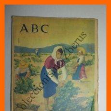 Colecionismo de Los Domingos de ABC: ABC 26 OCTUBRE 1958 - EXPOSICIÓN PRIMITICOS FLAMENCOS, BRUJAS; PROBLEMA SECANOS (TENERIFE): COROT. Lote 138606074