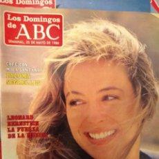 Colecionismo de Los Domingos de ABC: REVISTA ABC-EL SEMANAL MAYO 1986- LYDIA. Lote 139009002
