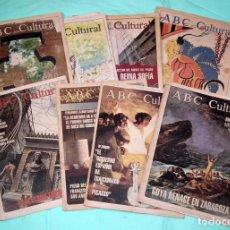 Coleccionismo de Los Domingos de ABC: DIARIO ABC CULTURAL - LOTE. Lote 139337942