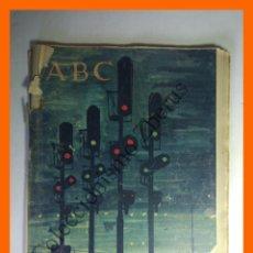 Coleccionismo de Los Domingos de ABC: ABC 18 DICIEMBRE 1960 - MONUMENTOS DEL PIRINEO (RONCESVALLES, OCHAGAVIA, GRAUS, BESALU. Lote 139555238