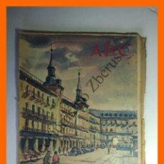 Coleccionismo de Los Domingos de ABC: ABC 5 DICIEMBRE 1960 - EL ESCOLANO; EL GLOSADOR DE LAS PARTIDAS GREGORIO LOPEZ. Lote 139556270