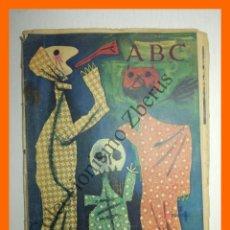Coleccionismo de Los Domingos de ABC: ABC 11 FEBRERO 1961 - JARDINES DE KYOTO; OLEGARIO JUNYENT; . Lote 139877510