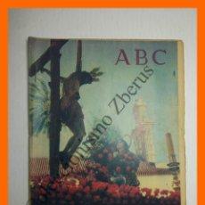Coleccionismo de Los Domingos de ABC: ABC 26 MARZO 1961 - SEMANA SANTA DE SEVILLA, VALLADOLID; LA CERA DE SEMANA SANTA; . Lote 139878794