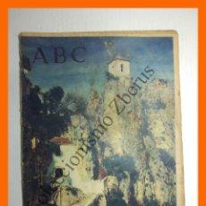 Coleccionismo de Los Domingos de ABC: ABC 9 ABRIL 1961 - TOROS Y LA PUBLICIDAD; JARDINES DE VALENCIA; SEGURIDAD EN SERVICIOS DE AVIACIÓN. Lote 139884526
