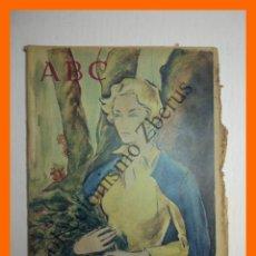 Coleccionismo de Los Domingos de ABC: ABC 28 MAYO 1961 - TELECOMUNICACIÓN ESPACIAL EUROPEA; LOS BRAZOS DE JUAN BELMONTE; . Lote 139891350