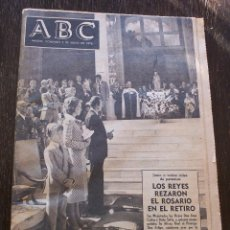 Coleccionismo de Los Domingos de ABC: ABC - MADRID, DOMINGO 9 DE MAYO DE 1976 - PERIÓDICO COMPLETO - MUY BUEN ESTADO. Lote 142071330