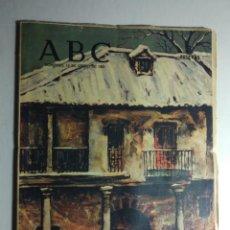 Collectionnisme de Los Domingos de ABC: ABC 10 ENERO 1965 - AGUILAS (MURCIA); ABASTECIMIENTO EL ESCORIAL; TORRE DE CIGUEÑAS (CACERES) Y PISA. Lote 142606378