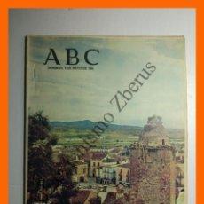Coleccionismo de Los Domingos de ABC: ABC 9 MAYO 1965 - TRUJILLO, PLAZA MAYOR; FRANCISCO DE LUIS DÍAZ, PERIODISTA; . Lote 142612042