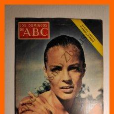 Coleccionismo de Los Domingos de ABC: ABC 19 OCTUBRE 1969 - RESPLANDORES DE LA GUERRA SANTA; BASILIO PATINO; ROMY SCHNEIDER; LA REVISTA. Lote 143129250