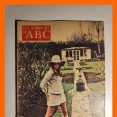 Coleccionismo de Los Domingos de ABC: ABC 3 AGOSTO 1969 - LYNDA HAYDEN; RUSIA; MUSICA EN ESPAÑA; DELANTERA DE FUEGO ATLETICO DE BILBAO. Lote 143130478