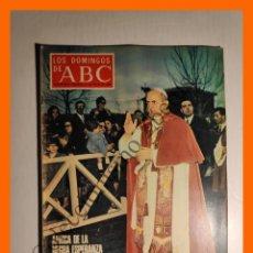 Coleccionismo de Los Domingos de ABC: ABC 27 JULIO 1969 - PABLO VI EN AFRICA; UGANDA; MEDICAMENTOS NOCIVOS; COPA GALEA; HIPNOTISMO; CADIZ. Lote 143130766