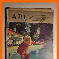 Coleccionismo de Los Domingos de ABC: ABC 9 JULIO 1967 - EL NOMBRE DEL RUISEÑOR; ELOGIO DEL CHISTU; LA SAVELLI, GABRIELA REJANE. Lote 143135190