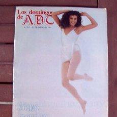 Coleccionismo de Los Domingos de ABC: LOS DOMINGOS DE ABC / ANA OBREGON, KIKO VENENO, MARIA DOLORES PRADERA, CRISTINA MARCOS, DELIBASIC. Lote 143162114