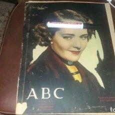 Coleccionismo de Los Domingos de ABC: PERIODICO 19 DE OCTUBRE AÑO 1935 GUERRA ADOLF HITLE NOTICIAS POLÍTICA LISTZ WAGNER INDIOS . Lote 143246686
