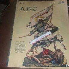 Coleccionismo de Los Domingos de ABC: PERIODICO 23 DE JULIO AÑO 1932 CAMINO SANTIAGO MUSEO UNIFORME MILITAR VALLADOLID ESCUELA TAUROMAQUIA. Lote 143249246