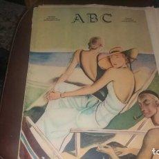 Coleccionismo de Los Domingos de ABC: PERIODICO 23 DE JULIO AÑO 1933 POLÍTICA NOTICIAS. Lote 143262130