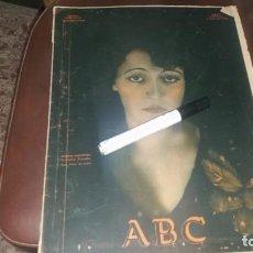 Coleccionismo de Los Domingos de ABC: PERIODICO 11 DE JULIO AÑO 1931 POLÍTICA NOTICIAS ARTISTA ESPAÑOLA VICTORIA PINEDO ÚBEDA . Lote 143263546