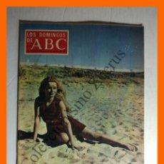 Coleccionismo de Los Domingos de ABC: ABC 30 AGOSTO 1970 - MODA DE ESTE VERANO; PELIGRO DE DETERGENTES; JOSELITO Y JUAN BELMONTE; . Lote 144435618