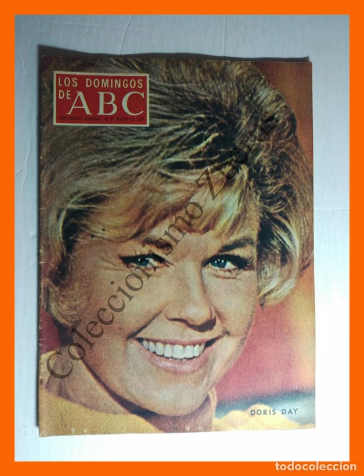 ABC 29 MARZO 1970 - DORIS DAY; BUERO VALLEJO; MARAÑON Y ALFONSO XII EN LAS HURDES; RICARDO ZAMORA (Coleccionismo - Revistas y Periódicos Modernos (a partir de 1.940) - Los Domingos de ABC)