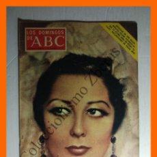 Coleccionismo de Los Domingos de ABC: ABC 5 DICIEMBRE 1971 - CONCHA PIQUER; GOLDA MEIR; AURORA BAUTISTA LISISTRATA; ROMA EN CRISIS. Lote 144448750
