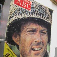 Coleccionismo de Los Domingos de ABC: LOS DOMINGOS DE ABC - SUPLEMENTO SEMANAL 9 DE OCTUBRE DE 1977 - ROBERT REDFORD. . Lote 144503722