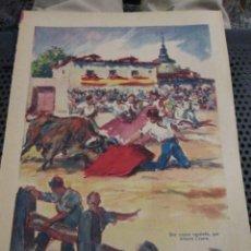 Coleccionismo de Los Domingos de ABC: ANTIGUA PUBLICIDAD PROCEDENTE DE LOS DOMINGOS DE ABC, 1955-57,UNA CAPEA AGOSTEÑA, ANTONIO CASERO.. Lote 144565682