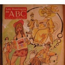 Coleccionismo de Los Domingos de ABC: LOS DOMINGOS DE ABC -FEBRERO 1988 -ULTIMO NUMERO -CON INMA DE SANTIS Y BELINDA CARLISLE. Lote 146321870