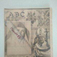 Coleccionismo de Los Domingos de ABC: PERIODICO ABC.VIERNES 5 NOVIEMBRE 1982.SOR ANGELA Y EL PAPA.C.C. Lote 146502254