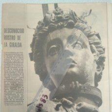 Coleccionismo de Los Domingos de ABC: PERIODICO ABC.MARTES 4 NOVIEMBRE 1980 SEVILLA DESCONOCIDO ROSTRO DE LA GIRALDA.C.C.VER FOTOS. Lote 146508105