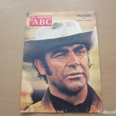 Coleccionismo de Los Domingos de ABC: LOS DOMINGOS DE ABC 31 DE OCTUBRE DE 1971. PICASSO, SEAN CONNNERY. Lote 147152758