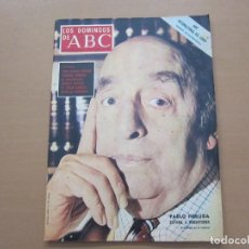 Coleccionismo de Los Domingos de ABC: LOS DOMINGOS DE ABC 15 DE OCTUBRE DE 1972. PABLO NERUDA. Lote 147153282