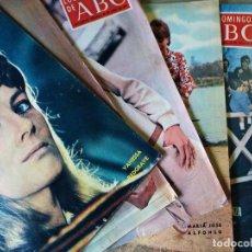 Coleccionismo de Los Domingos de ABC: LOTE LOS DOMINGO DE ABC 1969-70-71 16 NUMEROS. Lote 147206510