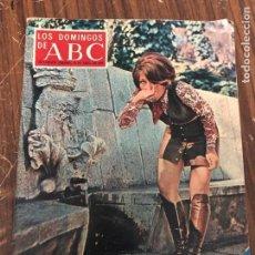 Coleccionismo de Los Domingos de ABC: LOS DOMINGOS DE ABC SUPLEMENTO SEMANAL FECHA 10-04-1970. Lote 147634734
