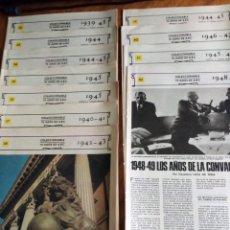 Coleccionismo de Los Domingos de ABC: 70 AÑOS DE ABC: DE 1.939 A 1.949 : 11 REVISTAS CONSECUTIVAS (VER TEMAS PRINCIPALES). Lote 147836594