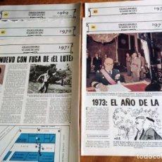 Coleccionismo de Los Domingos de ABC: 70 AÑOS DE ABC: DE 1.969 A 1.973: 5 REVISTAS CONSECUTIVAS (VER TEMAS PRINCIPALES). Lote 147839106