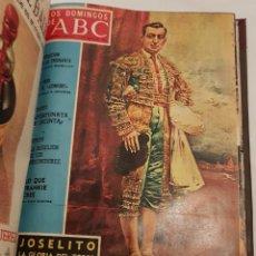 Coleccionismo de Los Domingos de ABC: TOMO LOS DOMINGOS DE ABC ENCUADERNADO DESDE ENERO A JUNIO DE1970 COMPLETO. Lote 147936994