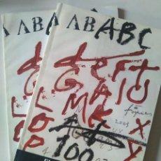 Coleccionismo de Los Domingos de ABC: ABC. EL PERIÓDICO DEL SIGLO. DOS VOLÚMENES: ANTOLOGÍA Y CRONOLOGÍA. Lote 148186674