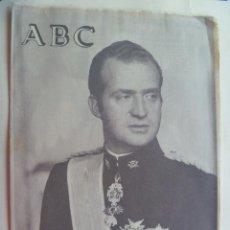 Coleccionismo de Los Domingos de ABC: ABC, ESPECIAL PROCLAMACION DE JUAN CARLOS REY DE ESPAÑA , 22 NOVIEMBRE 1975. Lote 149011442