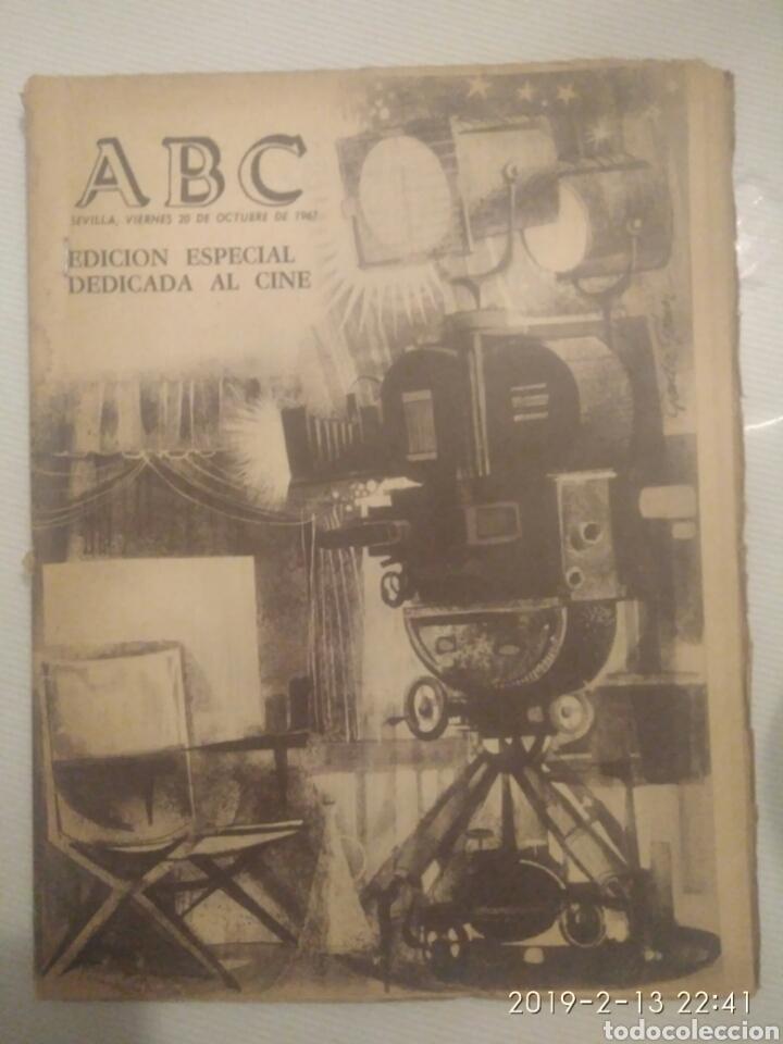 PERIODICO ABC EDICION ESPECIAL DEDICADA AL CINE 1967.CINES DE SEVILLA (Coleccionismo - Revistas y Periódicos Modernos (a partir de 1.940) - Los Domingos de ABC)