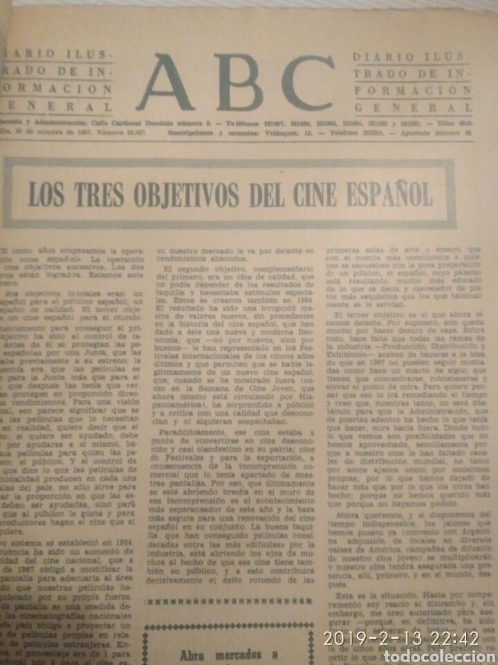 Coleccionismo de Los Domingos de ABC: PERIODICO ABC EDICION ESPECIAL DEDICADA AL CINE 1967.CINES DE SEVILLA - Foto 2 - 151166242