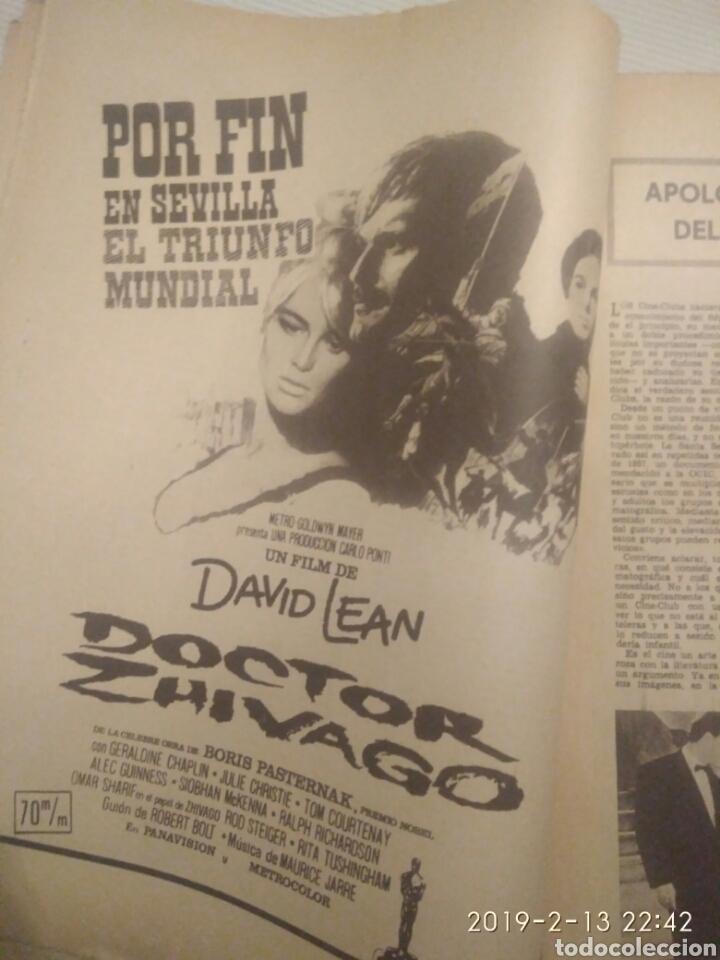 Coleccionismo de Los Domingos de ABC: PERIODICO ABC EDICION ESPECIAL DEDICADA AL CINE 1967.CINES DE SEVILLA - Foto 4 - 151166242
