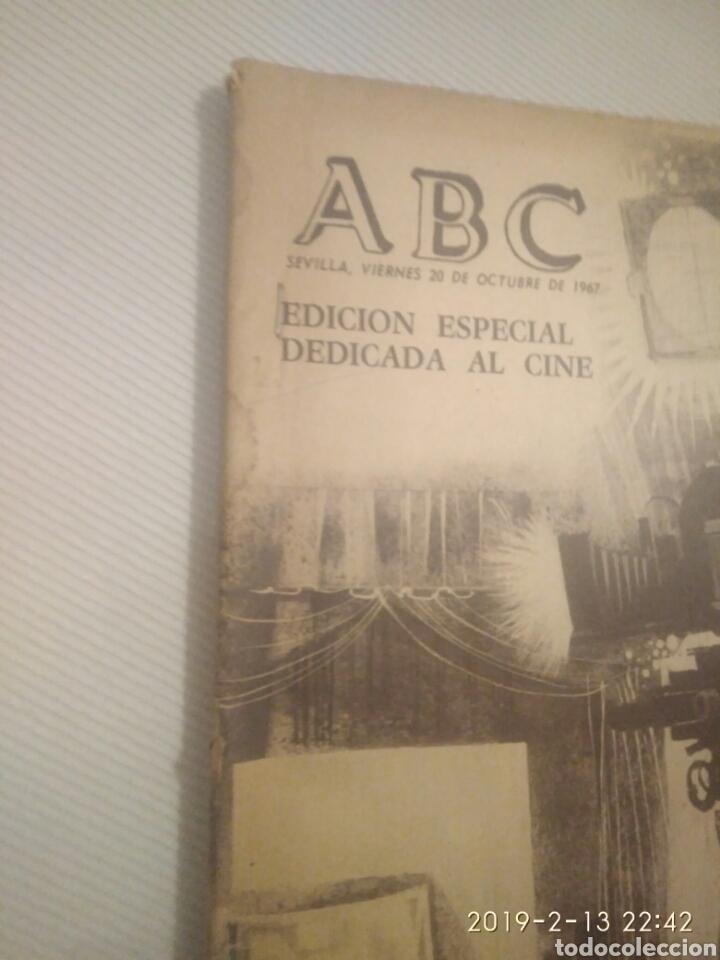 Coleccionismo de Los Domingos de ABC: PERIODICO ABC EDICION ESPECIAL DEDICADA AL CINE 1967.CINES DE SEVILLA - Foto 7 - 151166242