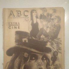 Coleccionismo de Los Domingos de ABC: PERIODICO ABC EXTRA DE CINE OCTUBRE 1968 ESTRENOS.VER FOTOS. Lote 151166677