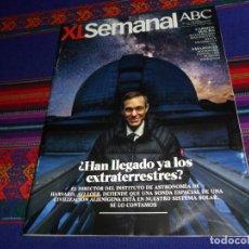 Coleccionismo de Los Domingos de ABC: XL SEMANAL ABC Nº 1632. 3-2-19. HAN LLEGADO LOS EXTRATERRESTRES, AVI LOEB, CARMEN MAURA, AMAZONAS.. Lote 152862074