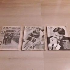 Coleccionismo de Los Domingos de ABC: PERIÓDICOS ABC. 2 DE 1987 Y 1 DE 1990. Lote 153305342