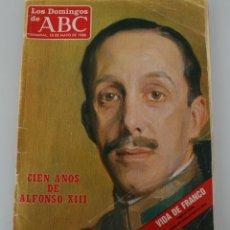 Coleccionismo de Los Domingos de ABC: REVISTA LOS DOMINGOS DE ABC SUPLEMENTO SEMANAL 1986: CIEN AÑOS DE ALFONSO XIII VEASE SUMARIO EN FOTO. Lote 157914626