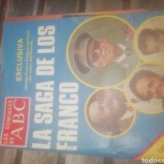 Coleccionismo de Los Domingos de ABC: REVISTA LOS DOMINGOS DE ABC LA SAGA DE LOS FRANCO. Lote 158328772
