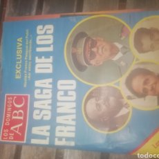 Collectionnisme de Los Domingos de ABC: REVISTA LOS DOMINGOS DE ABC LA SAGA DE LOS FRANCO. Lote 158328772